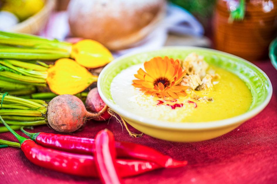 soppa på gulbeta & kokos